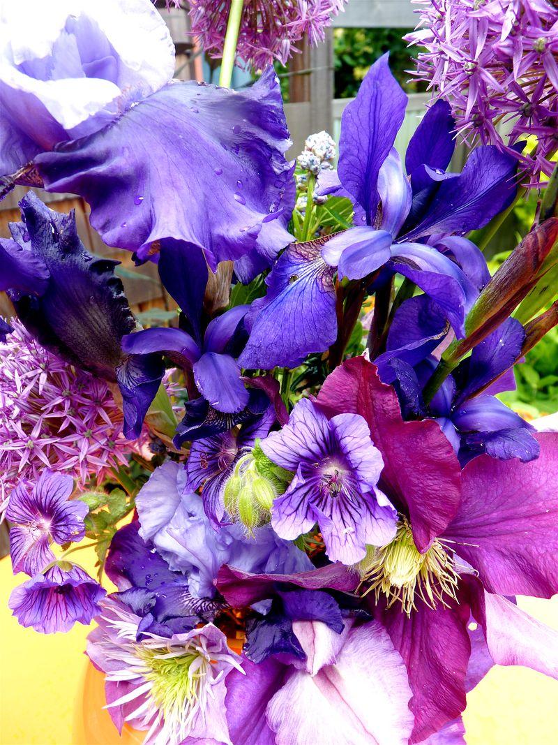 Blue bouquet 2