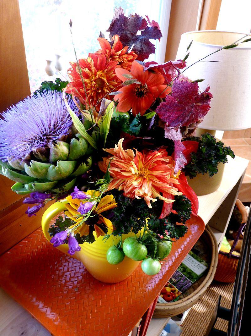 Bouquet artichoke1