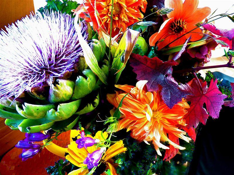 Bouquet artichoke 2