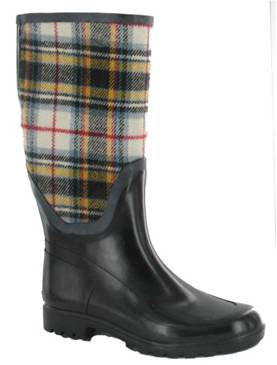 Wellie - Plaid Red