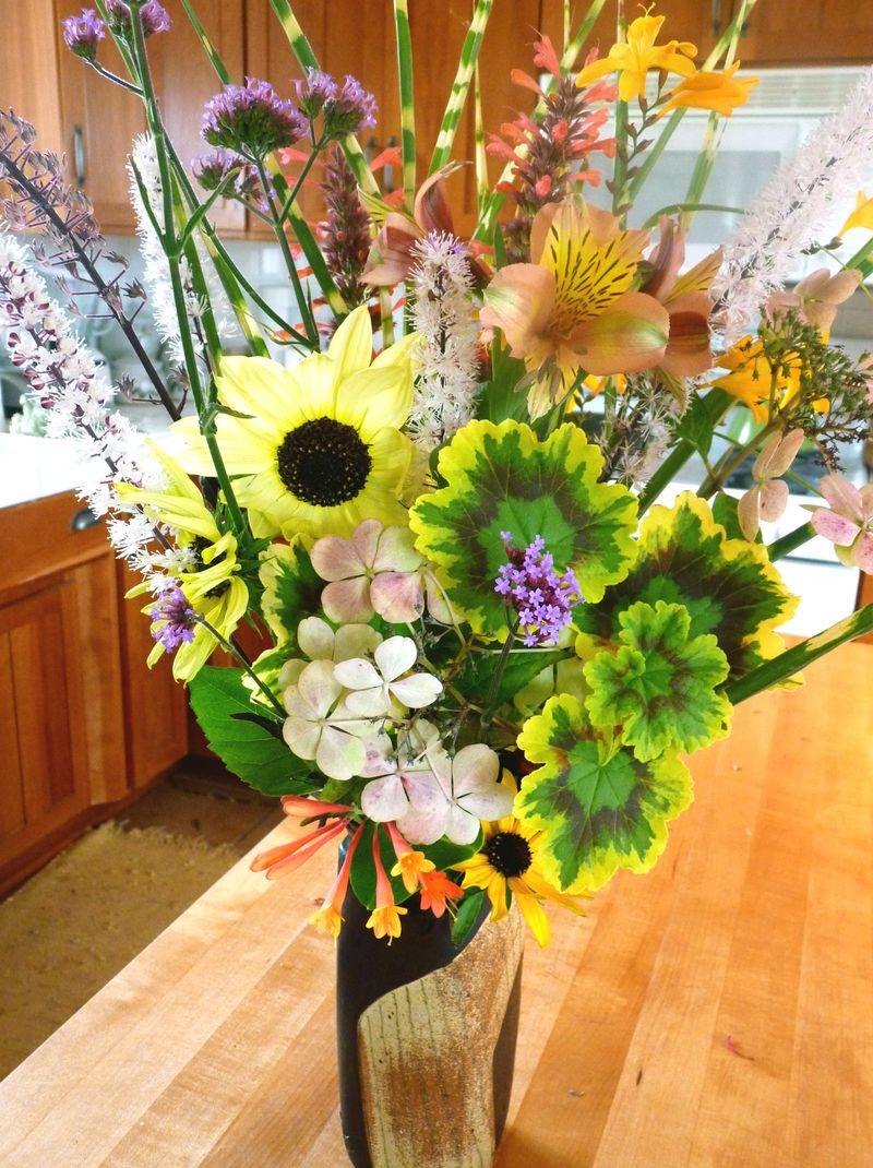 Sept bouquet