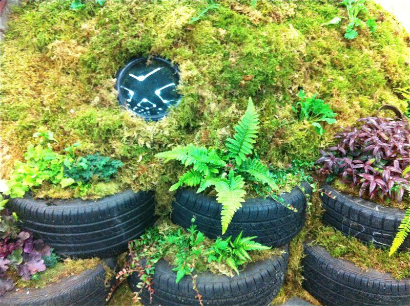 Mound:tires
